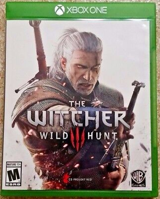The Witcher III: Wild Hunt (Microsoft Xbox One XB1, 2015) GUARANTEED - Witcher 3