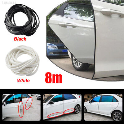 D6FC 8M Car Auto Door Edge Protector Sealing Strip Guard Seal Molding With Adhes