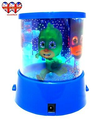 Official PJ Mask  Star&Moon Night Light Lamp,Colour Changing Projection .