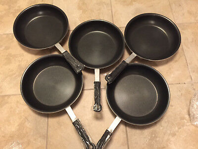 """10"""" Commercial Induction Fry Pan Non-Stick Lot Of 5"""