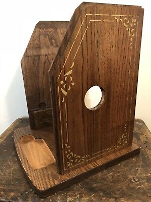 Antique Slot Machine Wood For A High Top