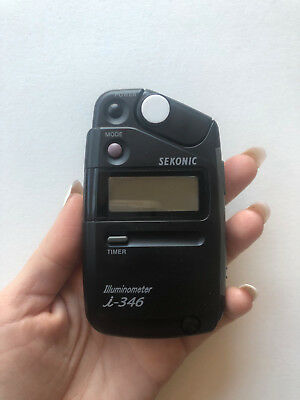 Sekonic Illuminometer i-346 Light Meter + Case in awesome condition.