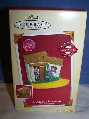 2005 Hallmark Over the Rainbow  Wizard of Oz Keepsake Ornament NIB