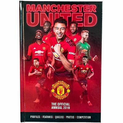 Manchester United Football Official Annual 2019 - Hardback