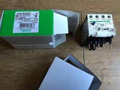 Schneider LR2 K0307 Thermal Overload relay 1.2-1.8A