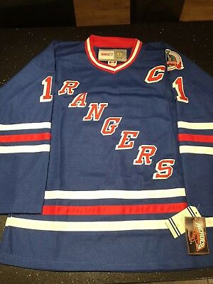 Bnwt New York Rangers Retro NHL Jersey Large