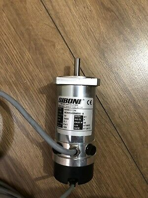 Siboni 32 V DC  3000 RPM Permanent Magnet Motor and Eltra Encoder