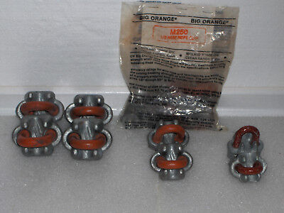 """Wire Rope Clamps- CROSBY- Assortment; 1/2""""-3/8""""-5/16"""""""