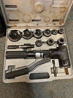 OPT Hydraulic (manual)Punch Driver Set #MAP-9