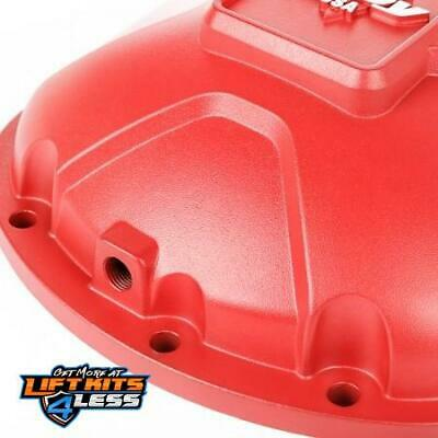 Alloy USA 11210 Red Aluminum Differential Cover For Dana 30 1984-01 Cherokee XJ