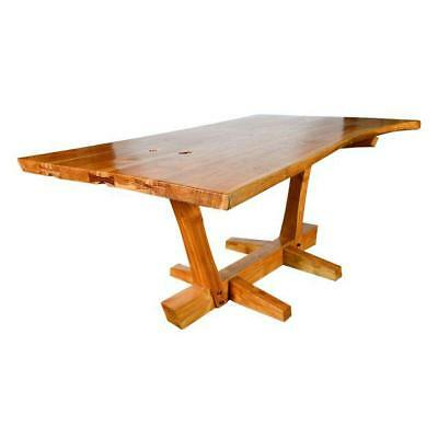 Walnut Conoid Dining Table in the style of George Nakashima-Rare