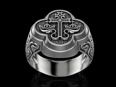 Greek wedding ring made in the ancient forgotten Byzantine tradition. 925 silver