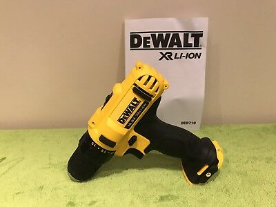 Brand New Dewalt Xr Dcd710 10.8V  Drill Driver  New
