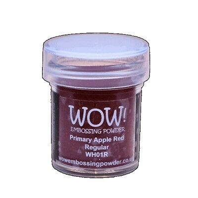 WOW! Embossing Powder Apple Red 15 ml - Embossing Pulver Apfel Rot