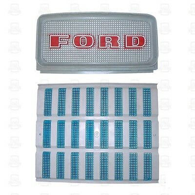 Ford Tractor Upper & Lower Grill Set 2000 3000 4000 5000 D1NN8151A & C9NN8A163AG
