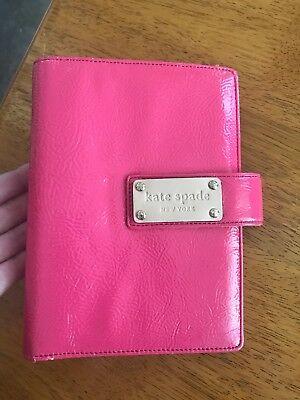 Kate Spade Debra Pink Patent Leather Personal Planner