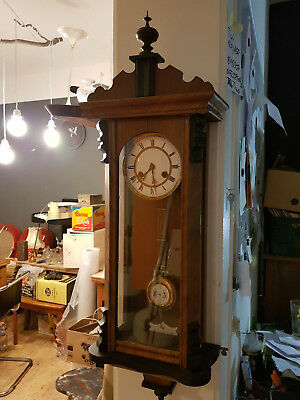 Old Antique Wall Clock by Junghans Regulator