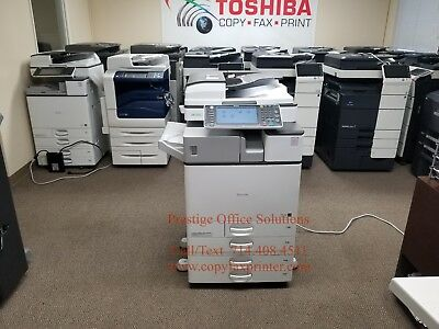 Ricoh Aficio MP C2503 Color Copier. Low Meter