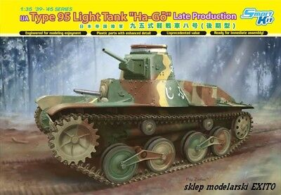 DRAGON 6770 - 1:35 IJA Type 95 Light Tank Ha-Go Late Production