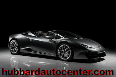 2017 Lamborghini Huracan RWD Sypder 2017 Lamborghini Spyder, Only 388 Miles, Fully Loaded, One of the Best Colors!