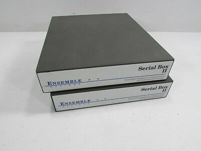 Lot Of 2 - Ensemble Serial Box Ii