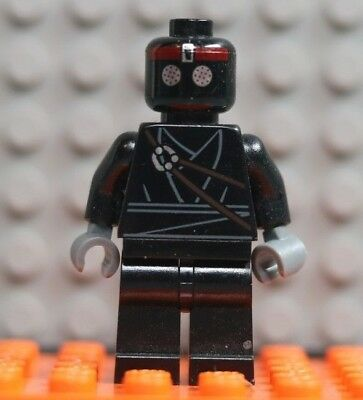 New Genuine LEGO Black Foot Soldier Minifig TMNT Turtle 79122 10669