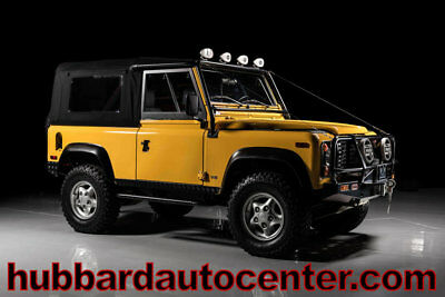 1997 Land Rover Defender 90 One of the lowet mile NAS Defender 90's in the cou 1997 Land Rover Defender NAS One of the lowest miles in the country, WOW!