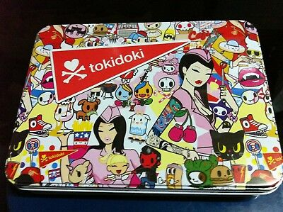 Tokidoki Sodashop Makeup Palette Includes 12 Eyeshadows In Keepsake Tin Sealed