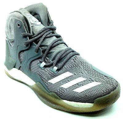 huge selection of ae2bd 4746c Adidas D Rose 7 GrayWhite - Mens - Size 6 B72839
