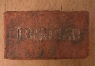 Antique Trinidad Colorado Sidewalk Street Paver Mini Brick Block Builder