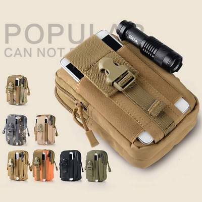 Portable Outdoor Sports Waist Pack Fanny Phone Pouch Belt Bag Camping Hiking