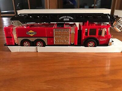 1998 Sunoco Fire Truck Christmas In July Limited Edition