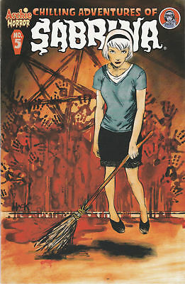 Chilling Adventures of Sabrina #5 Cover A 1ST PRINT Archie Comics Hack Horror