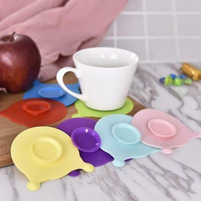 Baby Bowl Cup Anti Slip Placemat Silicone Double Sided Suction Sucker Mat Pads