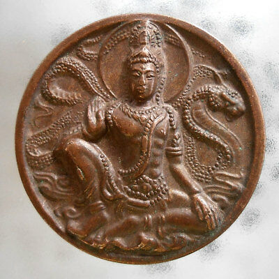 Genuine Buddha God Phra Jatukam Ramathep Thai Amulet Wealth Lucky Talismans Rich