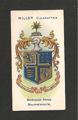BOURNEMOUTH Coat of Arms  Hampshire Dorset 1905 original print card