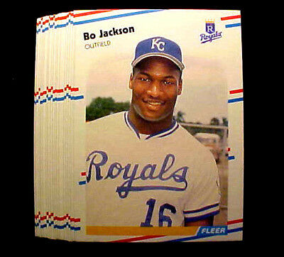 BO JACKSON ~ 1988 Fleer #260 Card ~~~~~~ LOT OF 100 CARDS AT A VERY LOW PIRCE!!!