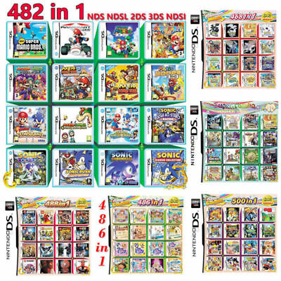 208/482/468/486/488/500 In 1 Video Game Card For Nintendo NDS NDSL 2DS 3DS NDSI