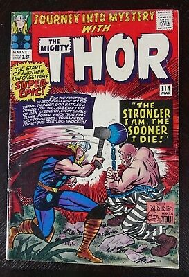Journey Into Mystery with Thor #114 - 1st appearance of the Absorbing-Man