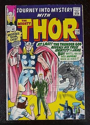 JOURNEY INTO MYSTERY WITH THOR #113 (Marvel 1965)