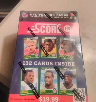2013 Score NFL Football Sealed Box of 11 Packs 12 Cards  Le'VEON BELL ROOKIE CL