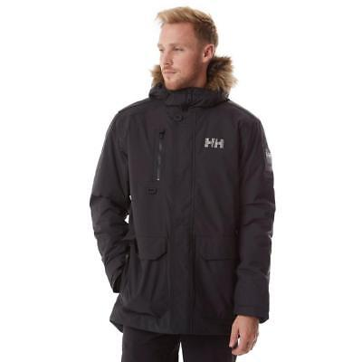 d4977490756 HELLY HANSEN MENS Svalbard Waterproof Windproof 3/4 Length Parka ...