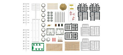 HO Scale Accessories - 1044 - Road work Accessories set