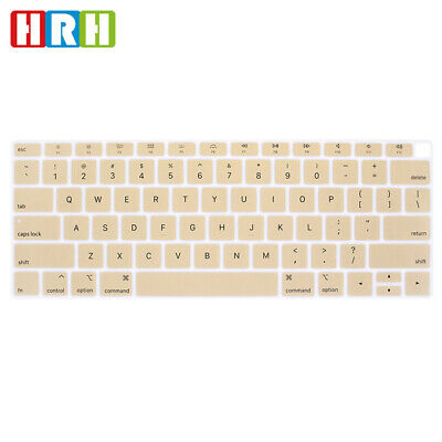 """US English Silicone Keyboard Cover For MacBook Air 13"""" Newest 2018 Release A1932"""