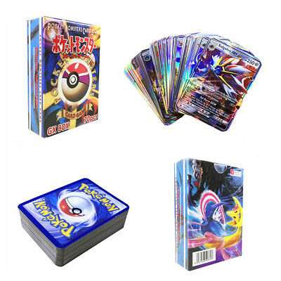 70 Stück Pokemon Karte 70GX Alle Holo Flash Full Art Trading Game Cards Gift Lot