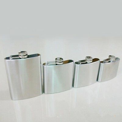 Stainless 1-18oz Stainless Steel Pocket Hip Flask Wine Liquor Alcohol Bottle SU