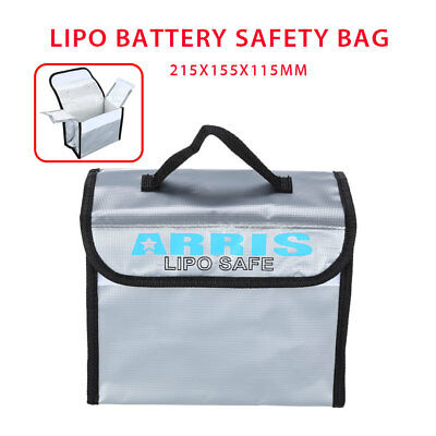 RC Battery Fireproof Safety Storage Bag Protecting Lithium Battery Transport FPV