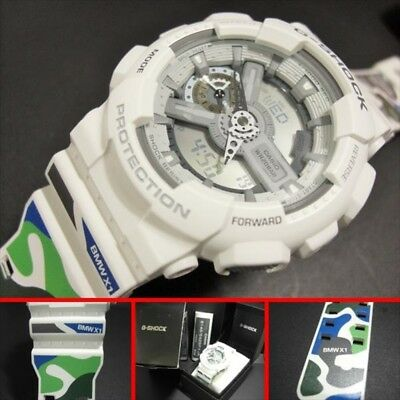 G-SHOCK CASIO Watch GA110C BMW X1 F48 111 Limited Edition Camouflage W Name NEW