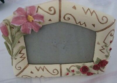 Photo Keepsake Take Someone's Breath Away w/Gifting Floral Picture Frame
