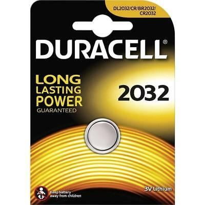GENUINE 1 X Duracell CR2032 3V Lithium Button Battery Coin Cell DL/CR 2032